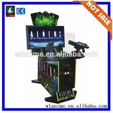 Shooting Game Machine Allens maximum tune arcade game machine