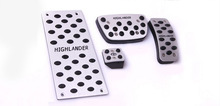 car accessories made in china aluminum pedals toyota previa pedal pad
