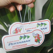 hanging paper flavour fragrance incense air fresheners car freshener