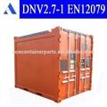 dnv certificato 10ft in mare aperto contenitore aperto in alto