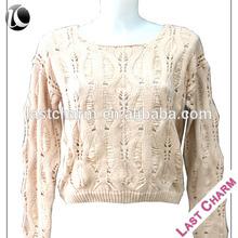LAST CHARM new fashion natural aran sweater patterns