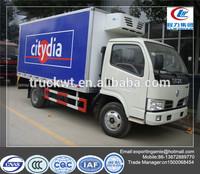 dongfeng 3 ton light refrigerator freezer trucks for sale