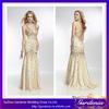 Gorgeous Beautiful High Quality Deep V-neck Cross Back Heavily Beaded Bodice Mermaid Long Customize Fashion Lady Dress(ZX861)