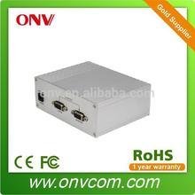 HD VGA Fiber Optic Transmitter & Receiver for Security- VGA Fiber Optic Transmitter & Receiver. 1CH Audio + Data + Fiber Port