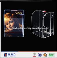 Factory clear pop style a5 acrylic brochure holder