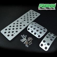 auto gas pedal aluminum car foot pedal non slip pedal fit for vw bora