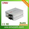 Dvi convertidor DVI transmisor y el receptor. $Number canal de datos y $number canal de audio. Individual Single Mode Fiber