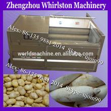 Automatic brush washing machine fruit and vegetable/carrot washing and peeling machine