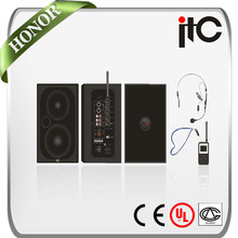 ITC T-210BM Built-in MP3 2.4G Radio Church Speaker with Wireless Mic