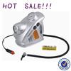 12v air compressor car tyre inflator 19mm cylinder with lights
