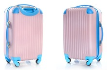 pc abs travel trolley luggage suitcase factory supply abs shell luggage