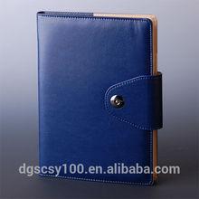 Gift usage customized leather cover A5 filofax Organizer