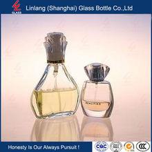 perfume empty glass bottle for perfume