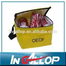 insulated polyester cooler food bag can shoulder bag