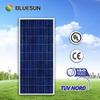Most popular amorphous thin film 140w cheapest solar panels