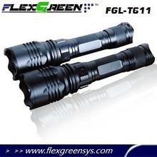 military aluminum xml t6 LED 300 meter flashlight