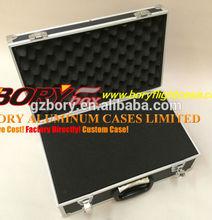 Foam insulated tool box flight cases for lcd tv laptop, tool, gun, mic