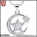 cristal jánuca de david judío el judaísmo estrella colgante collar de navidad