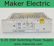 led light power adapter S-35-5