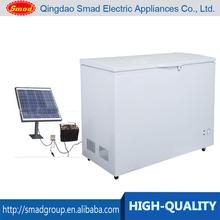 12v 24v 138L mini solar powered chest deep freezer