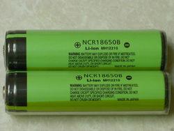 For Panasonic 18650 battery 3400mAh li-ion rechargeable batteries 3.7v