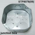 """4 """" Octagon aço caixa de comutação"""