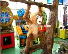 High quality amusement park animatronic monkey