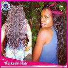 Natural human hair mixed Brazilian synthetic hair lace wigssynthetic and human hair mix lace wig