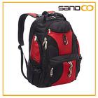 """BSCI audit factory men black travel backpack, promotional laptop bag for 17"""" laptop"""
