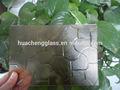 Claro 3-6mm/bronce modelado de vidrio chinchilla/de color bronce supuse vidrio