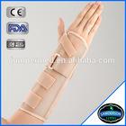 breathable foam medical wrist splint brace
