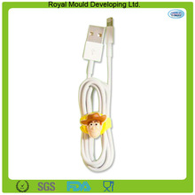 2014 Toy typed silicone cable cord earphone organizer