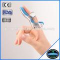 en aluminio curvo acolchado de espuma de médicos ortopédicos deportes dedo entablillado