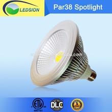 High lumens 15W Epistar cob par38 light,100-277v led par light par38
