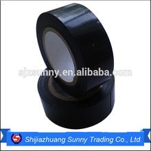 Flame retardant black shiny thermal insulation pvc adhesive tape