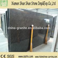 Abosolutely Black Pearl Granite Slabs for Sale
