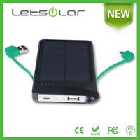 2014 hot selling LETSOLAR LET62B 4000mAh high capacity power bank external battery case for samsung galaxy s3 mini iPhone iPad