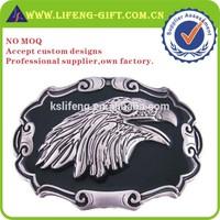 custom 3D eagle logo buckle loop