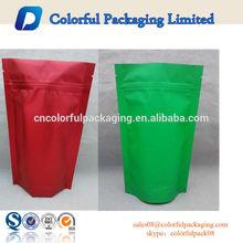 250g 500g Doypack ziplock Aluminum foil bag ,stand up ziplock pouch