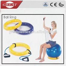 Fitness ball ring