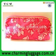 made in China cosmetic zip lock bag toiletry bag makeup kit