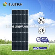 Bluesun high efficiency cheap price 90w mini solar panel 12v