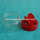 china plastic flip jar pet for spices