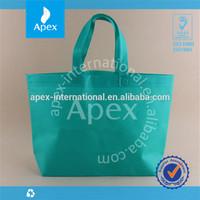 Hot sale solid color non-woven shopping bag