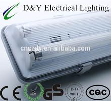 led weatherproof light fixture 2x36w