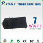 7W smart phone solar charger