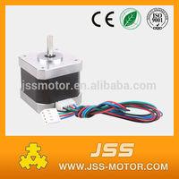 nema 17 small micro motor for 3d printer ,dc 4 wire servo stepper motor for cnc