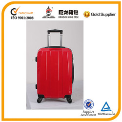 Hot sale PC&ABS trolley bag, travel luggage with TSA lock