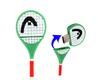 Tennis Racket Shape USB Flash Disk (4 GB)