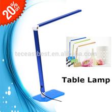 muebles de oficina de uso general y material de metal led lámpara de mesas